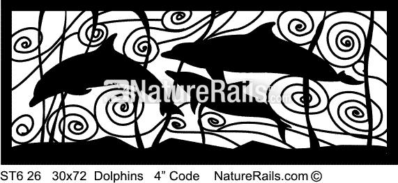Dolphin Railing panel
